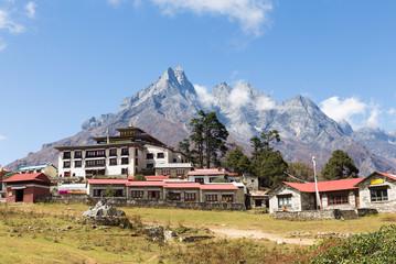 Tengboche monastery building.