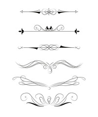Decorative elements for design.