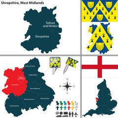 Shropshire, West Midlands, UK