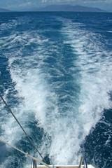 motor boat water trail