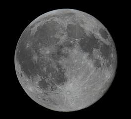 Real Full Moon Beautiful night sky