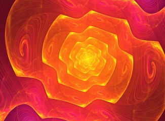 This is fractal spiral in a lot of shades of colors.