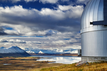 Wall Mural - Mount John Observatory, Lake Tekapo, New Zealand