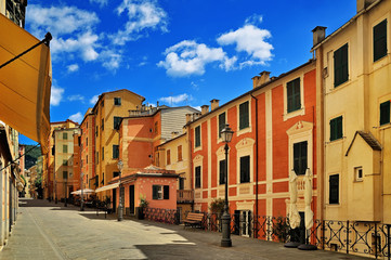 italian old city street