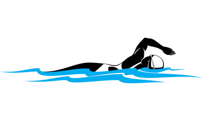 Female Freestyle Swimmer
