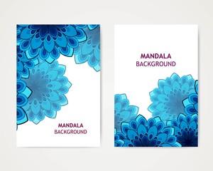 Vector Illustration of an Ornamental Mandala Design Template