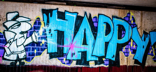 Graffiti: Happy
