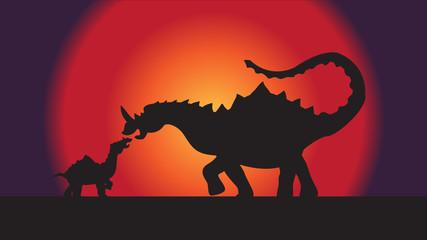 background image dinosaur