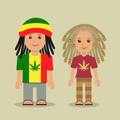 Rastafarian.