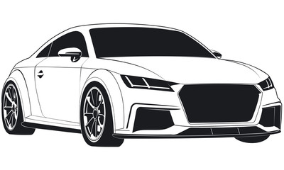 Search Photos Tt - Audi car vector