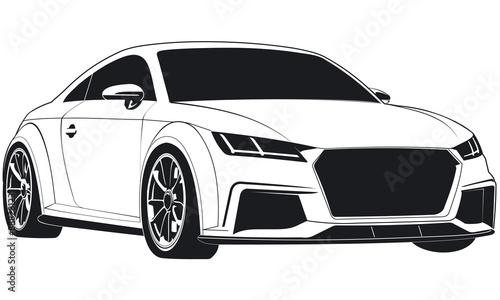 "sportwagen coupe logo tt\"" imágenes de archivo y vectores libres desportwagen coupe logo tt"