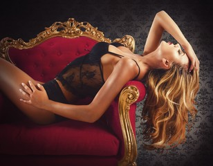 Sexy luxury woman