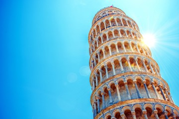 Leaning Tower of Pisa Wall mural