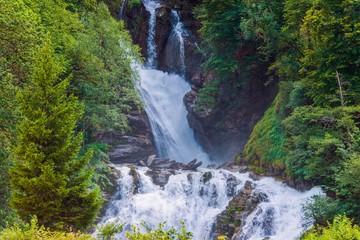 Wall Mural - Scenic Swiss Waterfalls