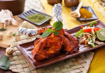 delicious indian tandoori chicken