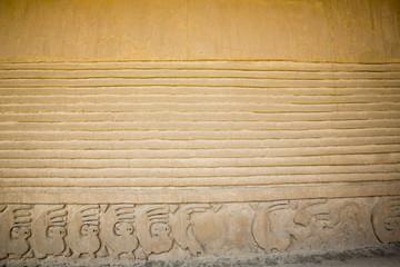 Detail of historic city of Chan Chan, Trujillo