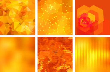 Geometric backgrounds set