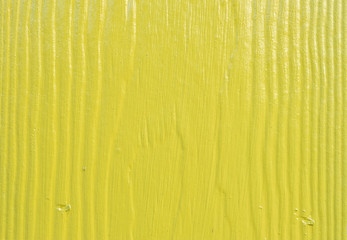 Yellow paint wood texture background