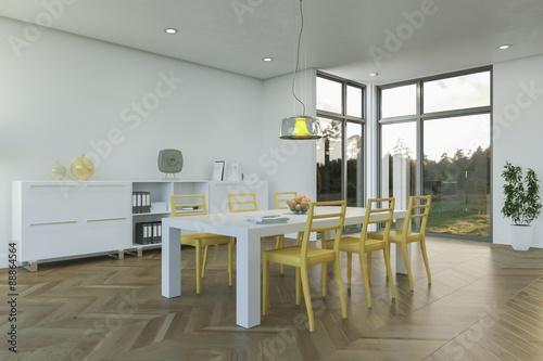 Modernes Esszimmer