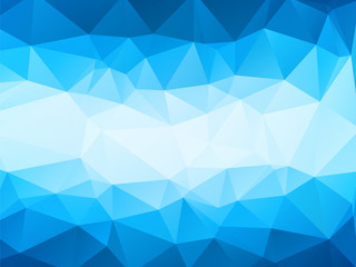 modern blue background with white stripe