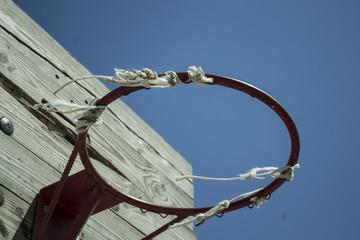 кольцо для игры в баскетбол