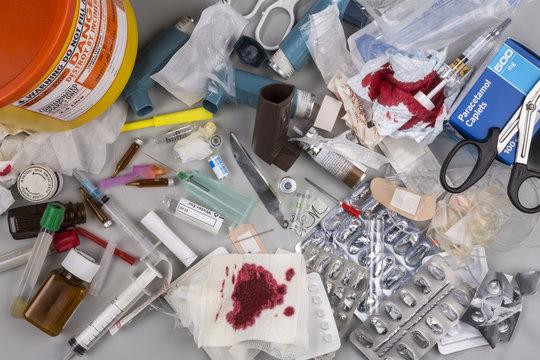 Hazardous Medical Waste for Disposal