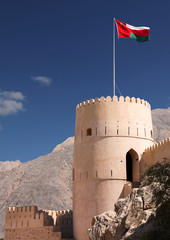 Foto auf Leinwand Befestigung Nakhal fort,Oman