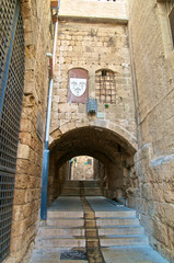 Ancient street of Acre