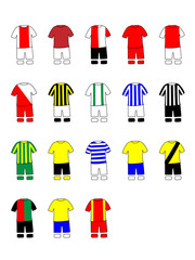 Dutch League Clubs Kits 2013-14 La Eredivisie