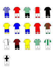 Portuguese League Clubs Kits 2013-14 Primeira Liga
