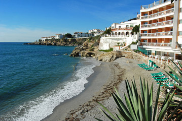 Playa de la Caletilla, Nerja, Málaga
