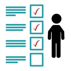 Fototapeta Survey icon design