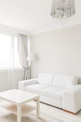 Small table and sofa