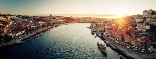 Porto city panorama Fotomurales