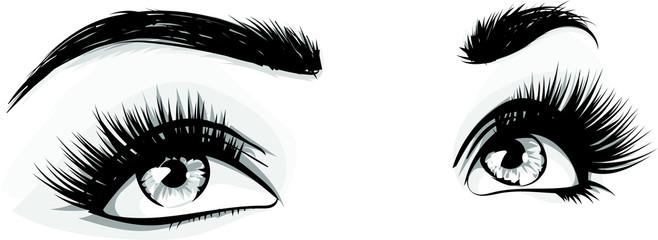 occhi donna