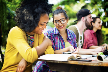 College Communication Education Planning Studying Concept