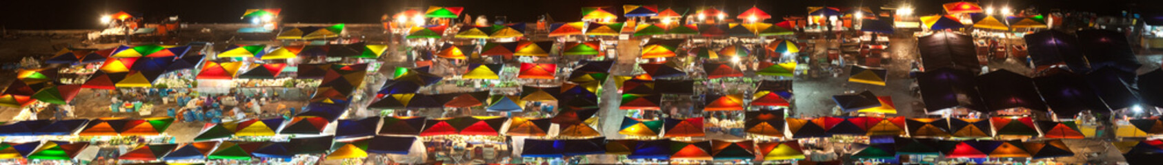 Night market at Kota Kinabalu, Malaysia