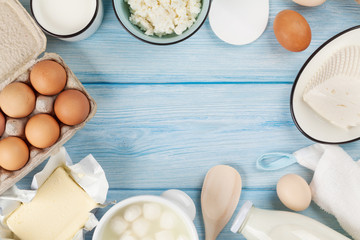 Printed roller blinds Dairy products Dairy products. Sour cream, milk, cheese, egg, yogurt and butter