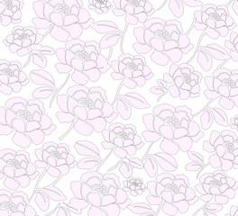 Стилизованный фон с розами