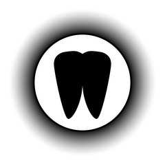 Tooth button.