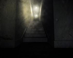 Treppenhaus Dark