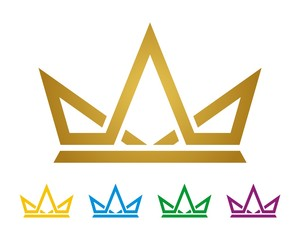 Gold Crown Logo Template v.2