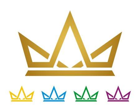 Gold Crown Logo Template v.2