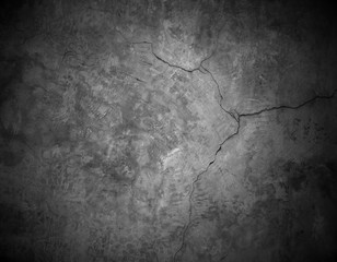 cracked stone wall background