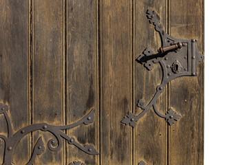 alte Tür mit Beschlag © Matthias Buehner