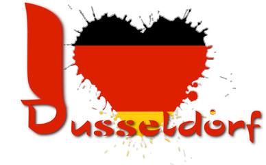 I love Dusseldorf