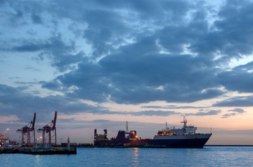 Haydarpasa Port, Istanbul