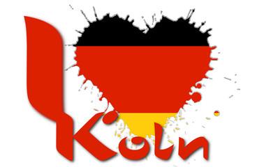 I love Koln
