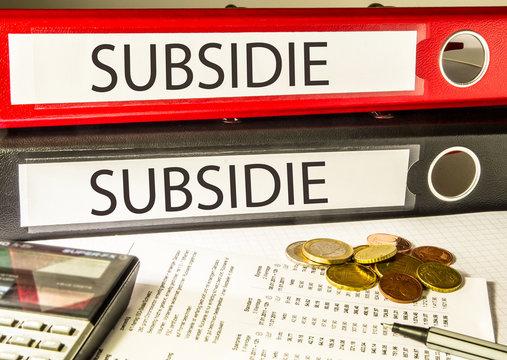Subsidie (overheid, steun)