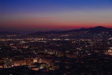 Greece Athens night